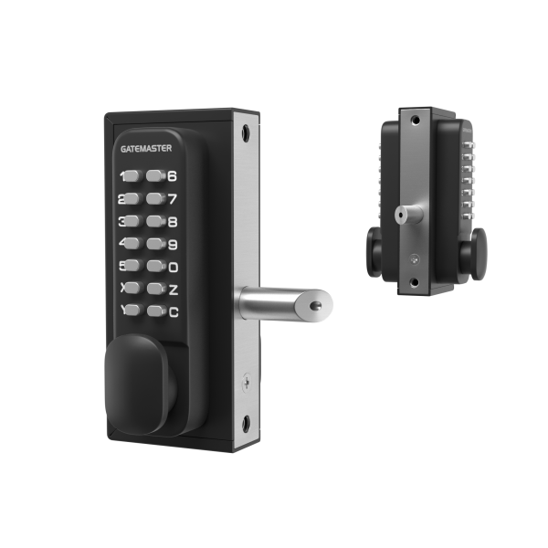 double-sided mechanical code lock