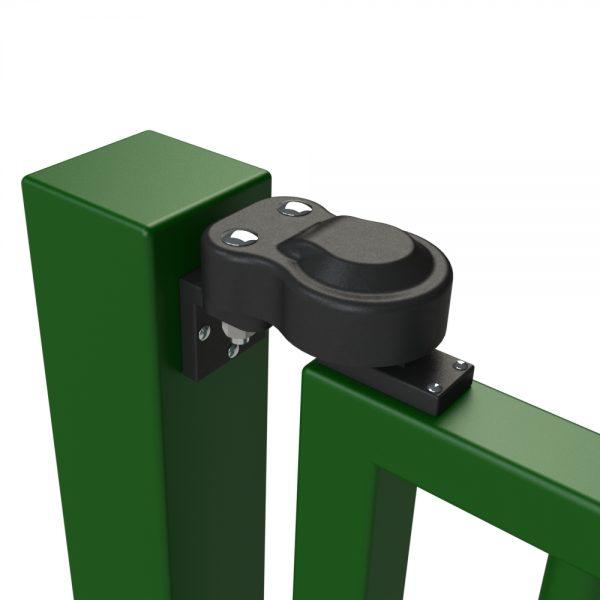 hydraulic gate closer top hinge